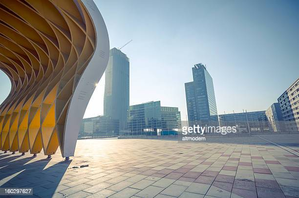 danube city - vienna austria stock pictures, royalty-free photos & images