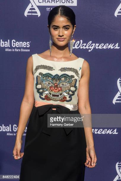 Danube Hermosillo attends the Global Genes' 6th Annual Tribute To Champions Of Hope Awards at City National Grove of Anaheim on September 16 2017 in...