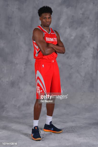 Danuel House of the Houston Rockets poses for a portrait on December 18 2018 at the Toyota Center in Houston Texas NOTE TO USER User expressly...