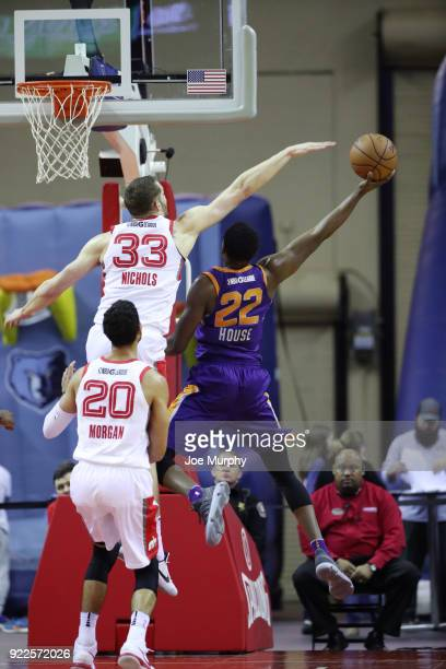 Danuel House of the Northern Arizona Suns shoots the ball against Memphis Hustle during an NBA GLeague game on February 21 2018 at Landers Center in...