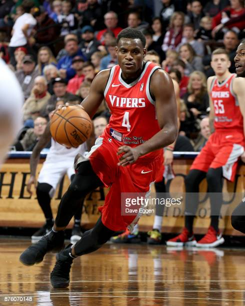 Danuel House of the Rio Grande Valley Vipers drives to the basket against the Sioux Falls Skyforce during an NBA GLeague game on November 18 2017 at...