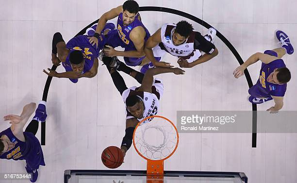 Danuel House of the Texas AM Aggies takes a shot against the Northern Iowa Panthers in the second round of the 2016 NCAA Men's Basketball Tournament...