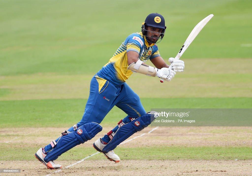 Sri Lanka v Pakistan - ICC Champions Trophy - Group B - Cardiff Wales Stadium : News Photo