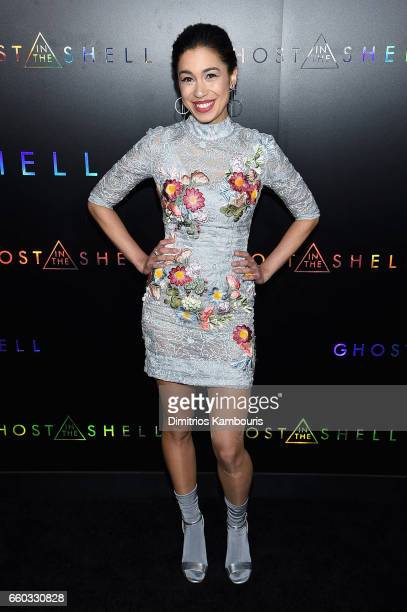 """Danusia Samal attends the """"Ghost In The Shell"""" premiere hosted by Paramount Pictures & DreamWorks Pictures at AMC Lincoln Square Theater on March 29,..."""