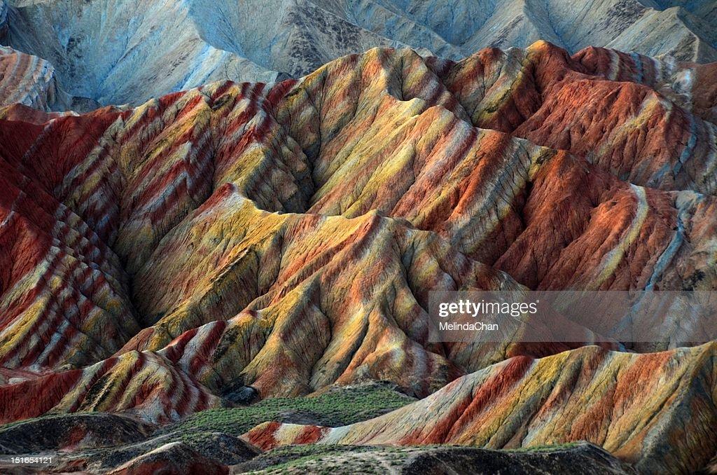 Danxia Landform : Stock Photo