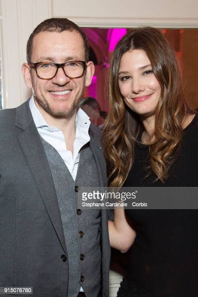 Dany Boon and Alice Pol attend the 'Trophees du Film Francais' 25th Ceremony at Palais Brongniart on February 6 2018 in Paris France