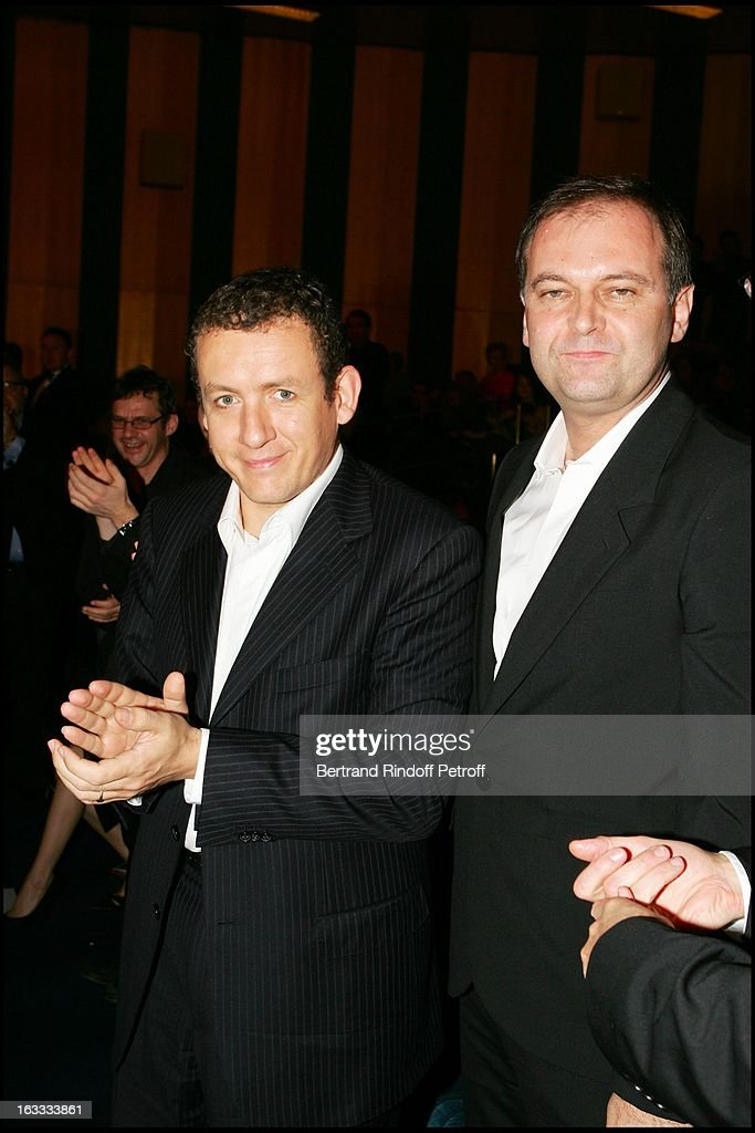 Film Joyeux Noel De Christian Carion.Dany Boon And Christian Carion At The Paris Premiere Of