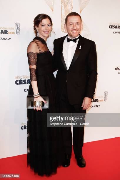 Dany Boon and Yael Boon arrive at the Cesar Film Awards 2018 at Salle Pleyel at Le Fouquet's on March 2 2018 in Paris France