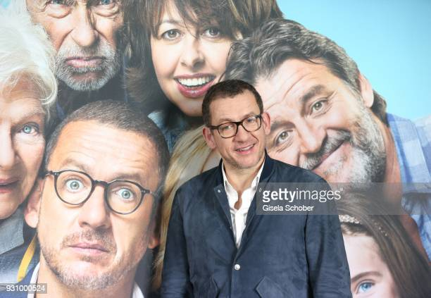 Dany Boon attends the 'Die Sch'tis in Paris' photo call at Hotel Bayerischer Hof on March 12 2018 in Munich Germany