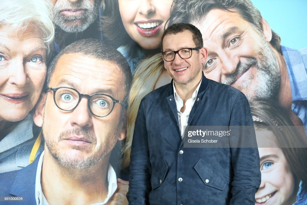 Dany Boon attends the 'Die Sch'tis in Paris' photo call at Hotel Bayerischer Hof on March 12, 2018 in Munich, Germany.