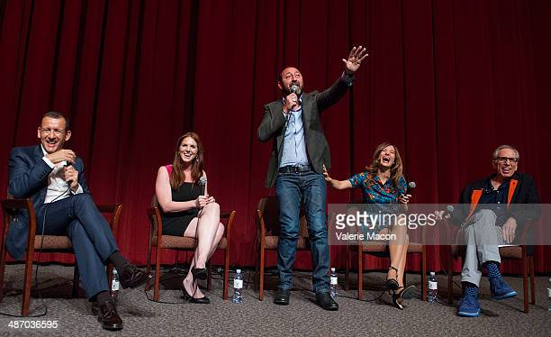 Dany Boon Kad Merad Alice Pol and Jerry Zucker attends the 18th Annual City Of Lights City Of Angels Film Festival at Directors Guild Of America on...