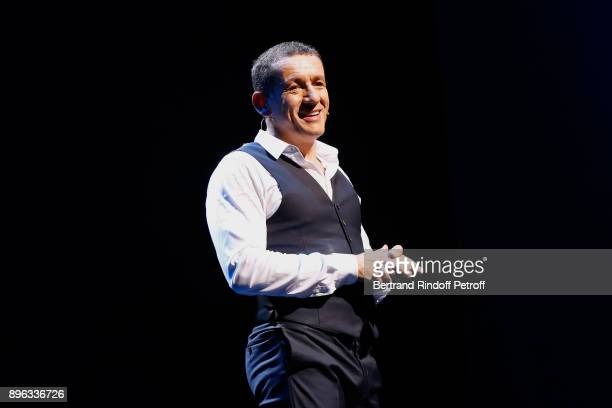 Dany Boon performs during the Dany de Boon Des HautsDeFrance Show at L'Olympia on December 18 2017 in Paris France