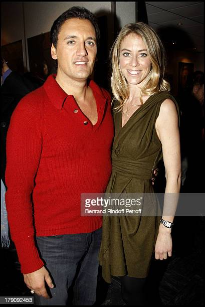 Dany Brillant and wife Nathalie at The Last Dany Brillant Salsa Tour At Au Palais Des Sports In Paris