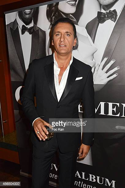 Dany Brillant attends the 'For Ever Gentlemen 2' CD Launch at Le Paris boat on October 1 2014 in Paris France