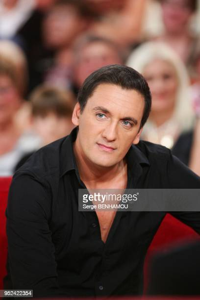 Dany Brillant attends Vivement Dimanche Tv show in Paris France on October 5 2011