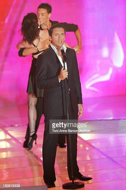 Dany Brillant during FRANCE2 Television Show Tenue de Soiree Live from Cannes at Palm Beach in Cannes France