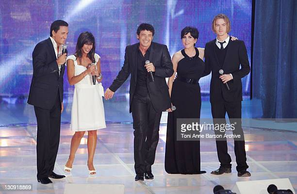 Dany Brillant ROse Patrick Bruel Liane Foly and Thierry Amiel