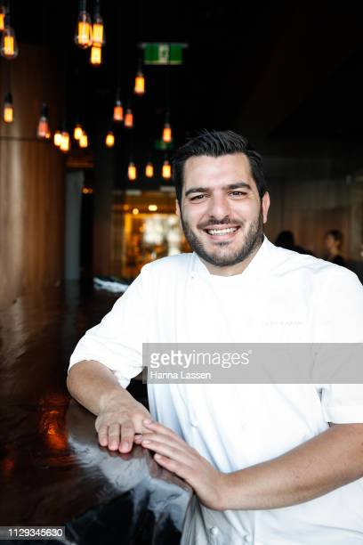 Dany Karam, Executive Chef at BLACK Bar & Grill poses during the Women In Wine Event at Black Bar & Grill at The Star on February 13, 2019 in Sydney,...