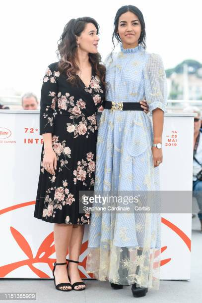 Dany Martial and Athenais Sifaoui attend thephotocall for Mektoub My Love Intermezzo during the 72nd annual Cannes Film Festival on May 24 2019 in...
