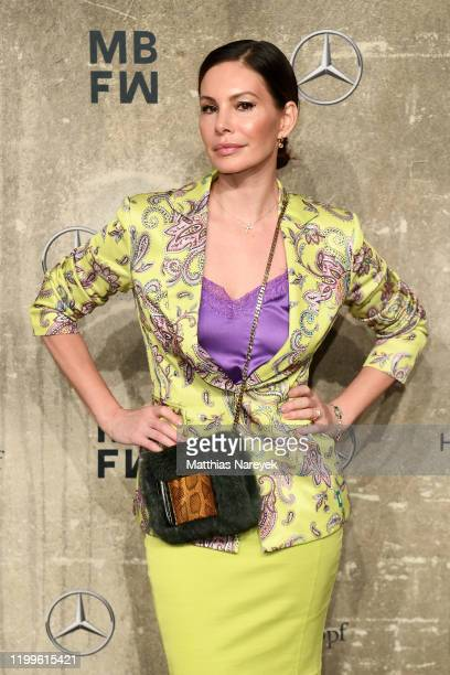 Dany Michalski attends the Sportalm show during Berlin Fashion Week Autumn/Winter 2020 at Kraftwerk Mitte on January 15 2020 in Berlin Germany
