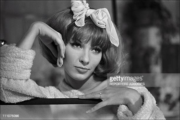 Dany Saval in the film Strip Teasein France on October 03rd 1961