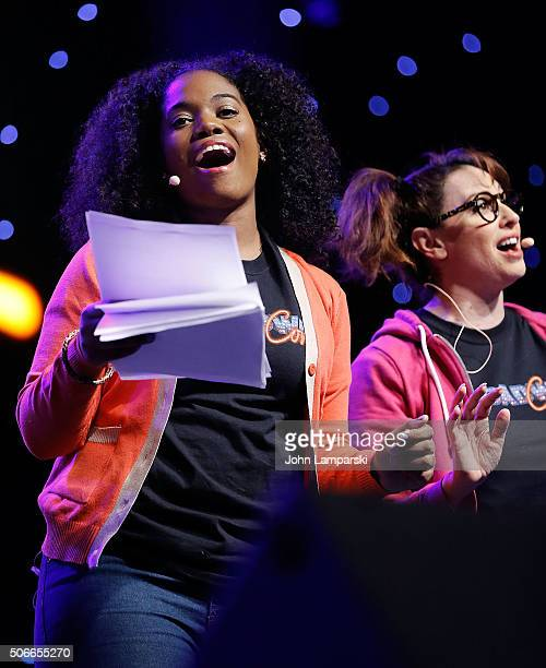 Danyel Fulton attends BroadwayCon 2016 on January 24 2016 in New York City