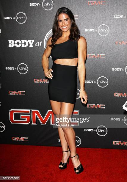 Danyelle Wolf arrives at the BODY at ESPYS PreParty held at Lure on July 15 2014 in Hollywood California