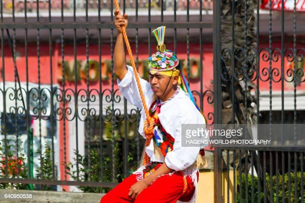 Danza de los Voladores in Teziutlan, Puebla