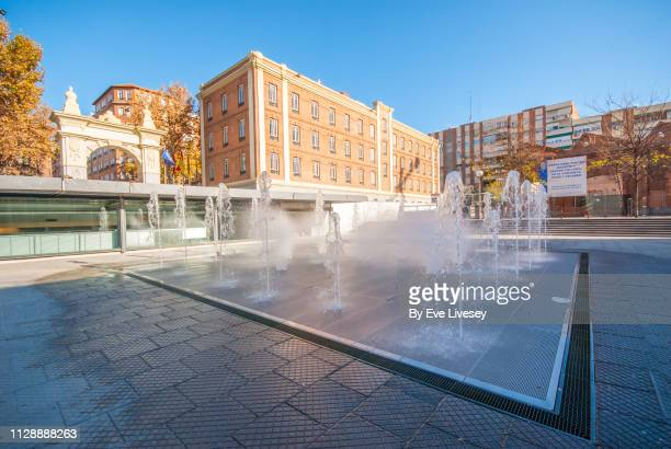 Daoiz & Velarde Square Interactive Fountain