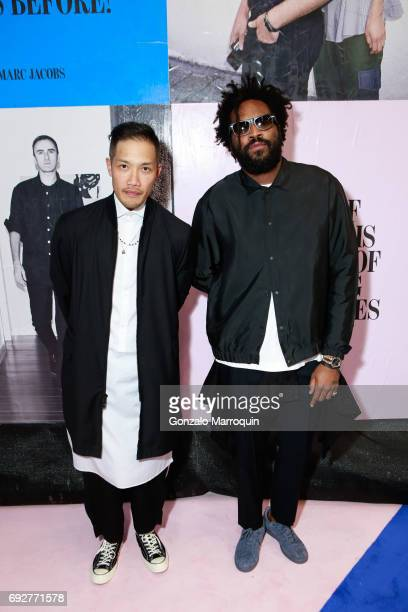 DaoYi Chow and Maxwell Osborne attend the 2017 CFDA Fashion Awards on June 5 2017 in New York City