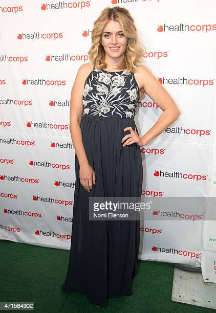 Daphene Oz attends the 9th Annual HealthCorps' Gala at Cipriani Wall Street on April 29 2015 in New York City