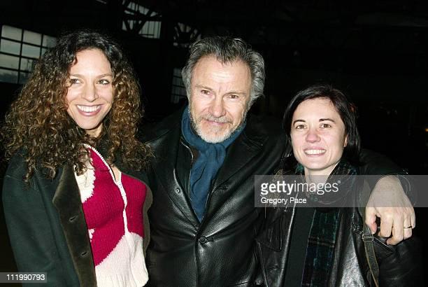 Daphna and Harvey Keitel with Kimberly Peirce