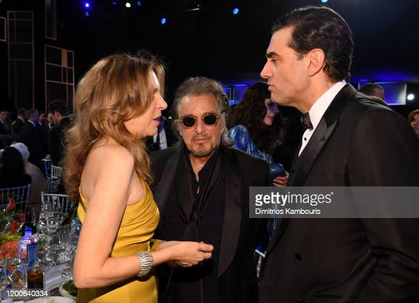 Daphna Kastner Al Pacino and Bobby Cannavale attend the 26th Annual Screen Actors Guild Awards at The Shrine Auditorium on January 19 2020 in Los...