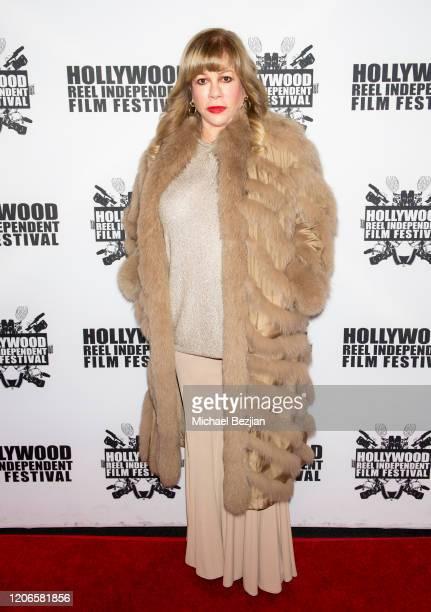 Daphna Ziman arrives at A Dark Foe Film Premiere on February 15 2020 in Los Angeles California