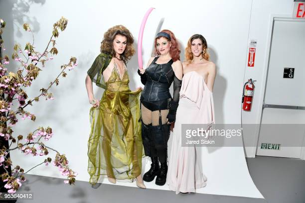 Daphne Always Mistress B and Scarlet Envy attend Planned Parenthood Of New York City Spring Gala Honoring Cecile Richards And Laverne Cox at Spring...