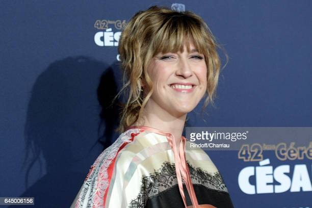 Daphne Burki arrives at the Cesar Film Awards Ceremony at Salle Pleyel on February 24 2017 in Paris France