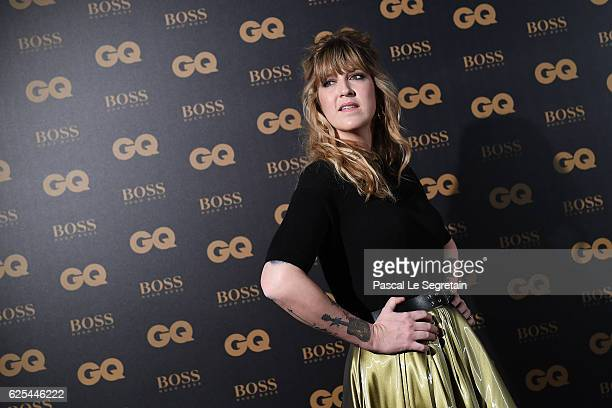Daphne Burki attends GQ Men Of The Year Awards at Musee d'Orsay on November 23 2016 in Paris France