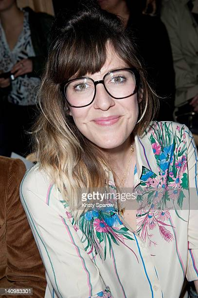 Daphne Burki attends the Alexis Mabille ReadyToWear Fall/Winter 2013 show as part of Paris Fashion Week at Cercle National Des Armees on March 4 2012...