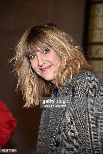 Daphne Burki attends the Jean Paul Gaultier Haute Couture Spring Summer 2017 show as part of Paris Fashion Week on January 25 2017 in Paris France