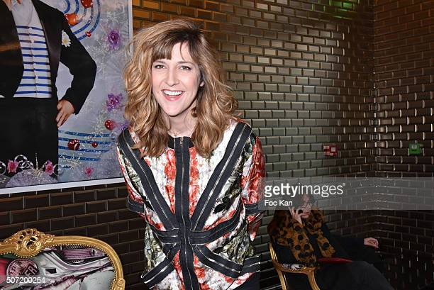 Daphne Burki attends the Jean Paul Gaultier Spring Summer 2016 show as part of Paris Fashion Week on January 27 2016 in Paris France