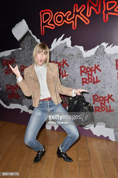Daphne Burki attends the 'Rock'N Roll' Premiere at Cinema Pathe Beaugrenelle on February 13 2017 in Paris France