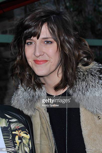Daphne Burki attends the Secours Populaire Francais charity party at the Musee Des Arts Forains on March 28 2014 in Paris France