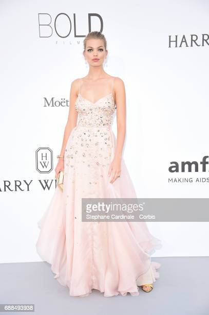 Daphne Groeneveld arrives at the amfAR Gala Cannes 2017 at Hotel du Cap-Eden-Roc on May 25, 2017 in Cap d'Antibes, France.