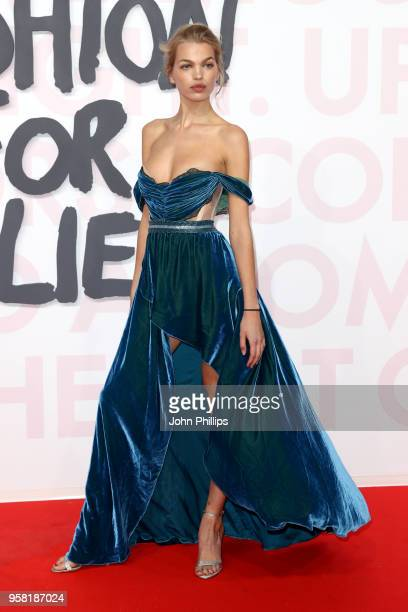 Daphne Groeneveld attends Fashion for Relief Cannes 2018 during the 71st annual Cannes Film Festival at Aeroport Cannes Mandelieu on May 13 2018 in...