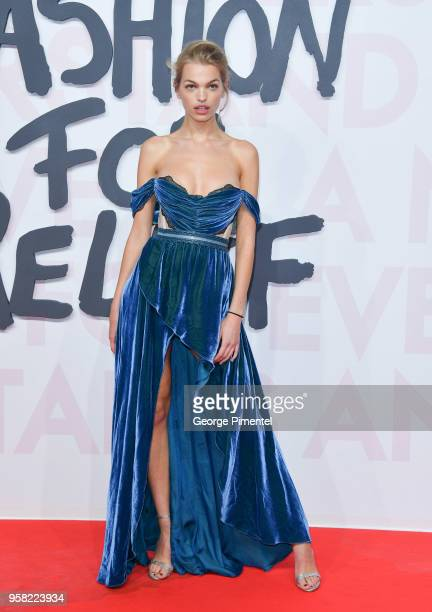 Daphne Groeneveld attends Fashion For Relief Cannes 2018 during the 71st annual Cannes Film Festival at Aeroport Cannes Mandelieu on May 13, 2018 in...
