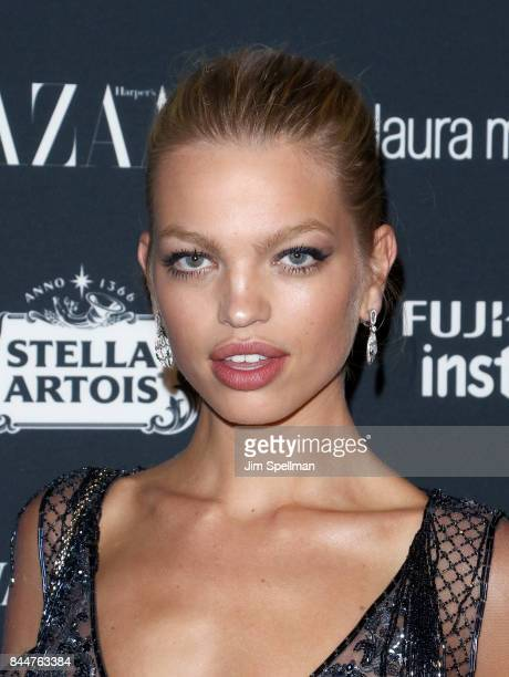 Daphne Groeneveld attends the 2017 Harper's Bazaar Icons at The Plaza Hotel on September 8 2017 in New York City