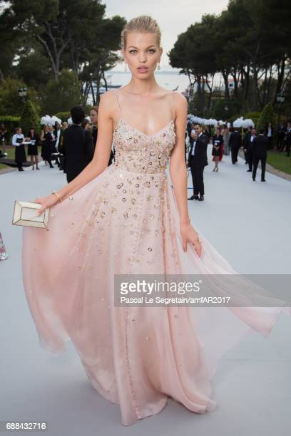 Daphne Groeneveld attends the amfAR Gala Cannes 2017 at Hotel du CapEdenRoc on May 25 2017 in Cap d'Antibes France