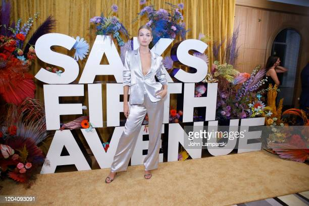 Daphne Groeneveld attends the first anniversary celebration of L'Avenue at Saks on February 04 2020 in New York City