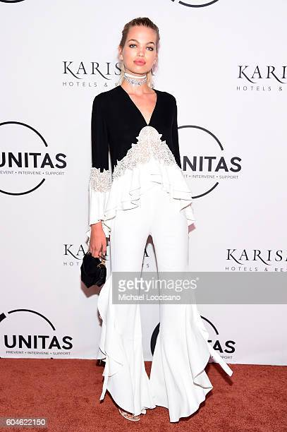 Daphne Groeneveld attends the UNITAS 2nd annual gala against human trafficking at Capitale on September 13 2016 in New York City