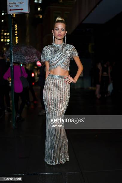 Daphne Groeneveld attends Vanity Fair's BestDressed 2018 in the Financial District on September 12 2018 in New York City
